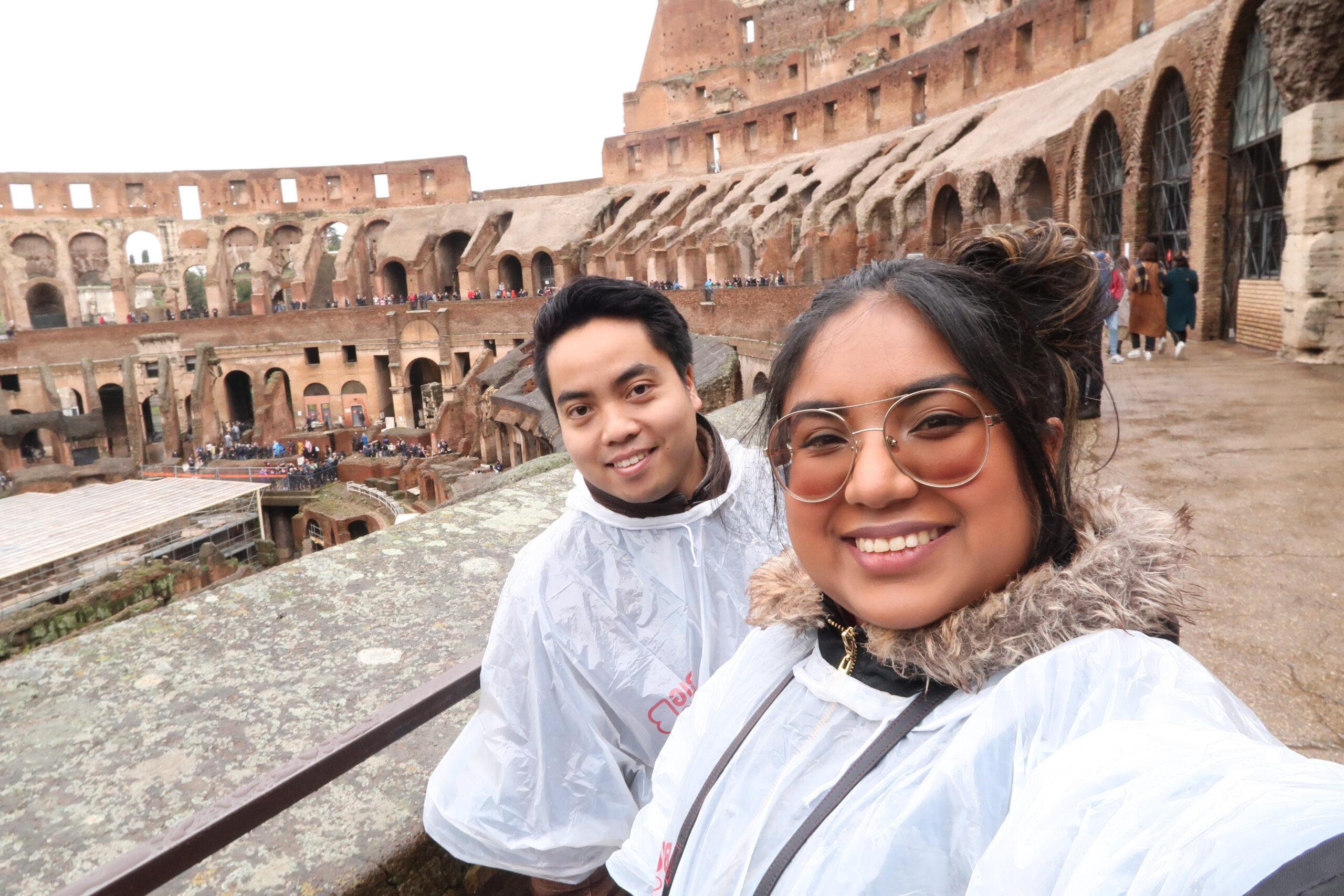 Fariel in Rome